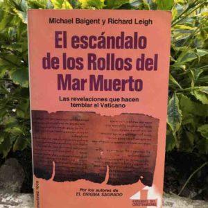 El escándalo de los Rollos del Mar Muerto